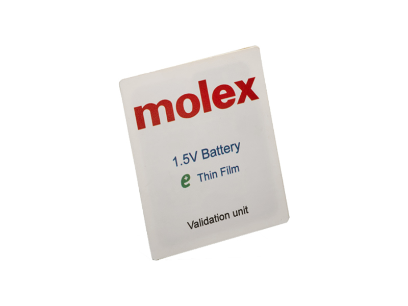 Picture for category Molex 1.5V & 3V Thin-Film Batteries