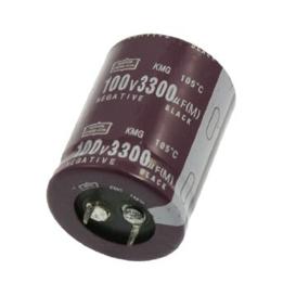 Picture of C-ALU 1uF 100V M ±20% 5000 Hrs @ 85°C 5x11 R=5 Radial TH Ammo NipponChemi
