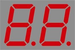 "Resim  2 DIJIT KIRMIZI 14.20MM (0.560"") ORTAK ANOT BRT-LED DISPLAY BD-A546RI"