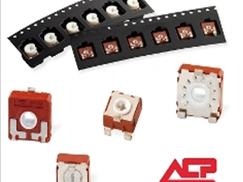 Picture for category SMD Potentiometers in  ACP's full Product Range: 6, 9 and14mm
