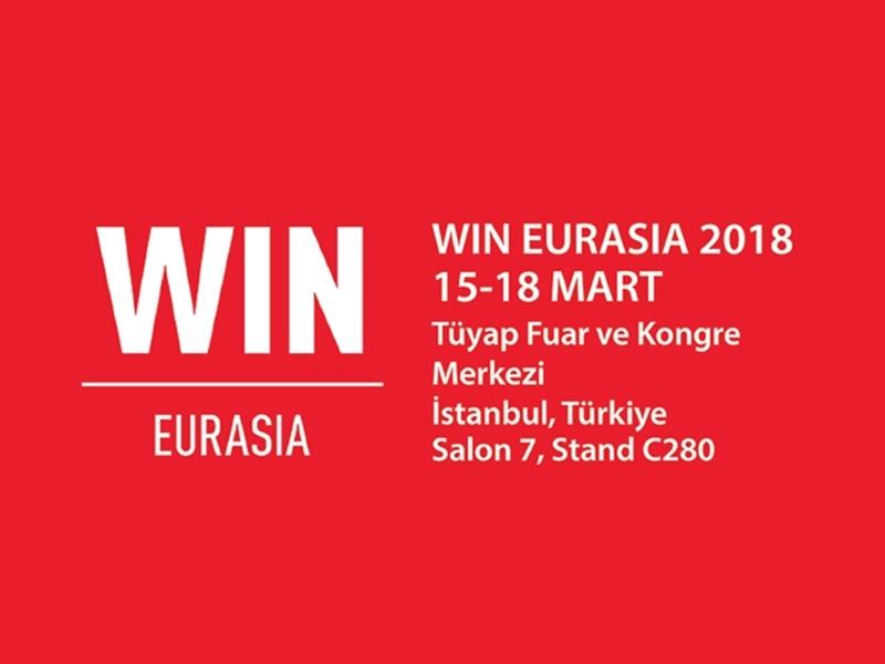 Kategori İçin Resim Mornsun ile birlikte WIN EURASIA 2018 fuarında sizleri bekliyoruz