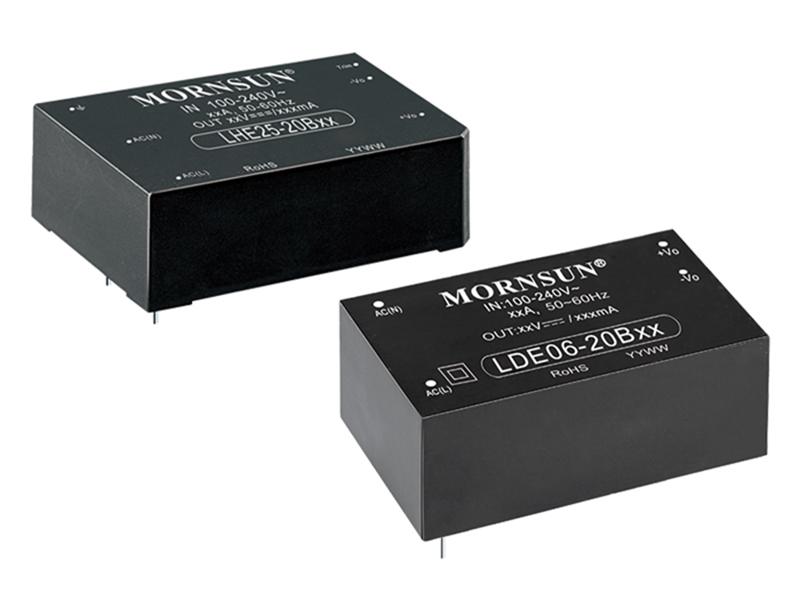 Kategori İçin Resim Yüksek İzolasyonlu ve Kompakt Boyutlu LDE/LHE Serisi AC/DC Dönüştürücüler