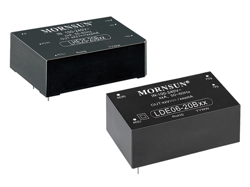 Picture for category Cost-effective Compact Size AC/DC Converters LDE/LHE Series