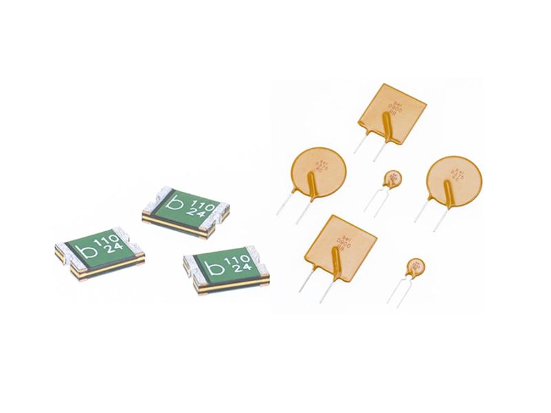 Kategori İçin Resim Bel Fuse SMT ve Radyal  PTC Sıfırlanabilir Sigortalar