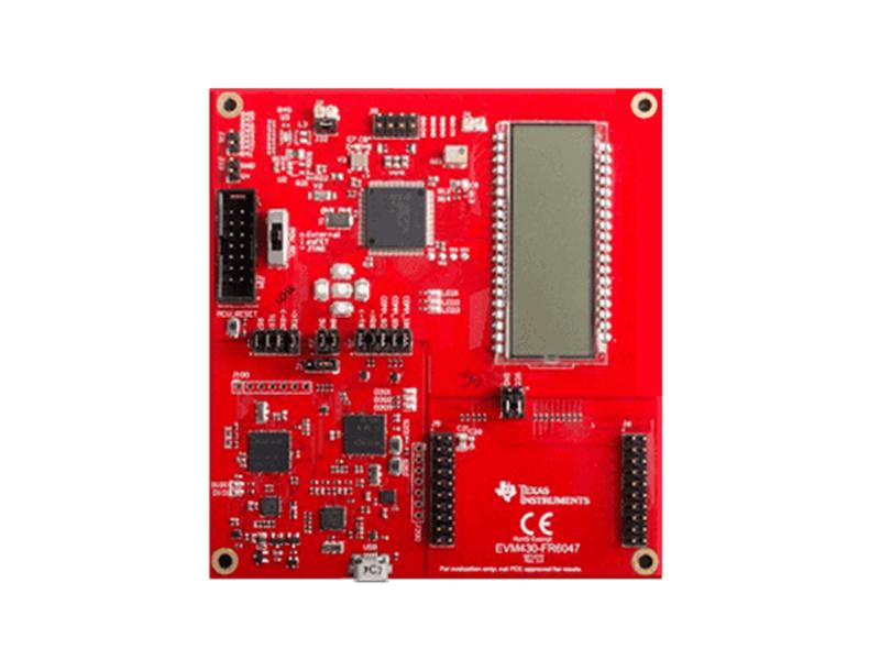 Kategori İçin Resim Texas Instruments EVM430-FR6047 Değerlendirme Modülü (EVM)