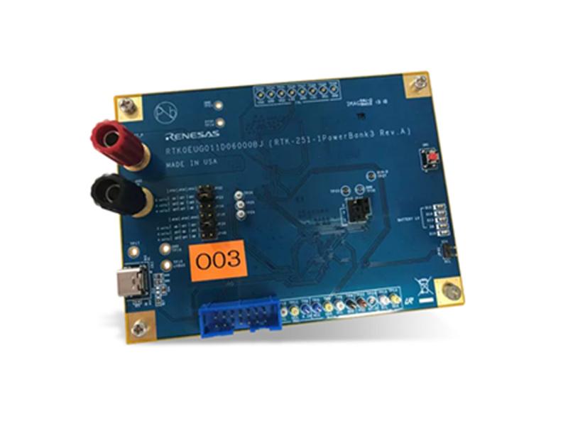 Kategori İçin Resim Renesas Electronics R9A02G011 RTK-251-1PowerBank3 Kartı