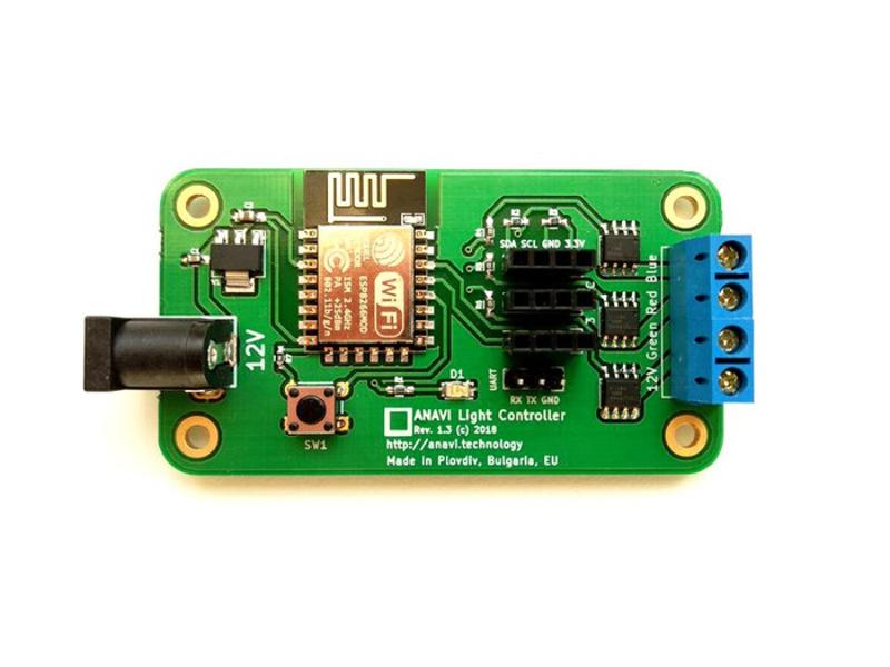 Kategori İçin Resim Crowd Supply ANAVI Işık Kontrolörü