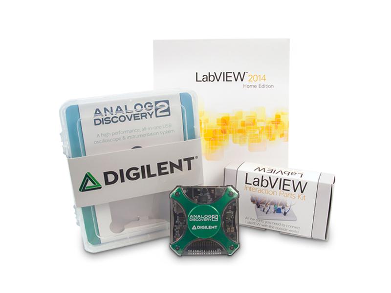 Kategori İçin Resim Digilent Analog Discovery 2 LabVIEW Paketi