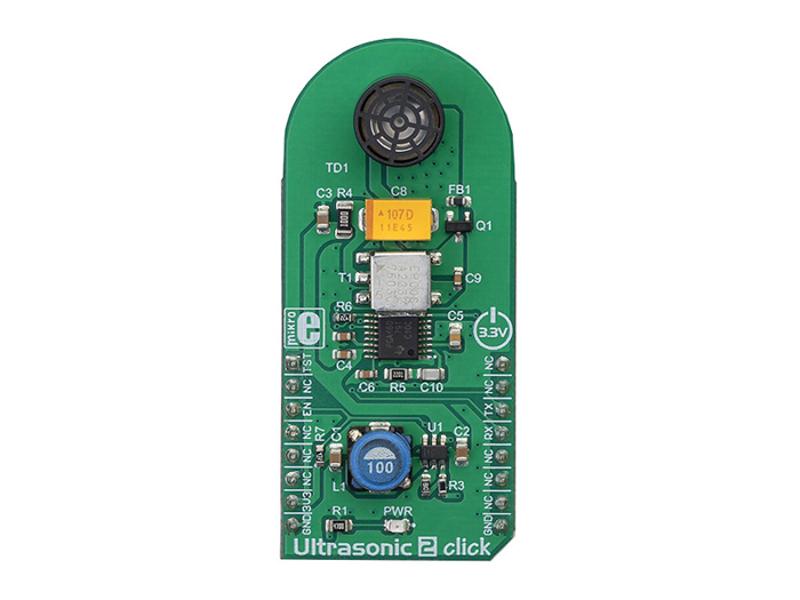 Kategori İçin Resim Mikroe MIKROE-3302 Ultrasonik 2 Klik