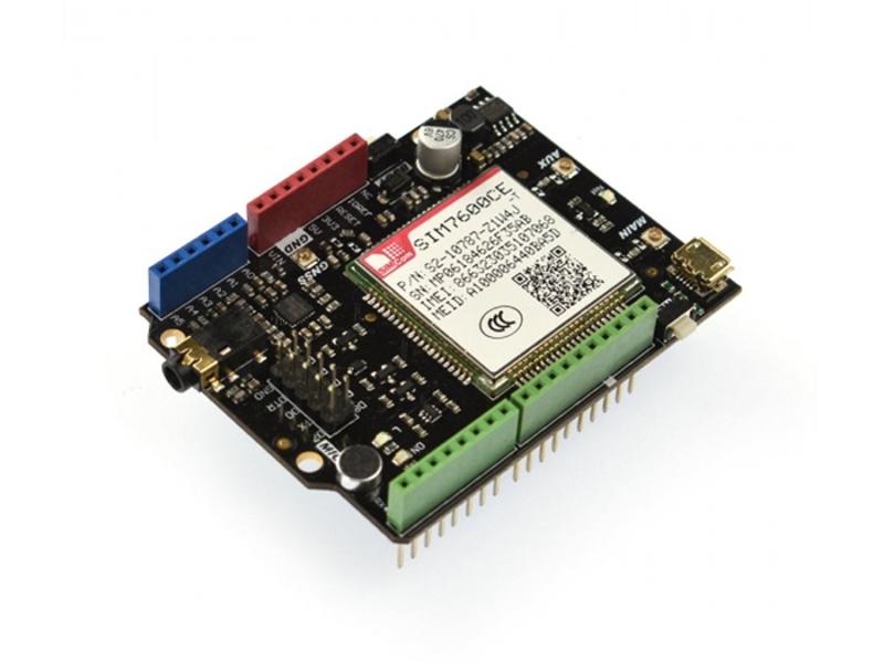 Kategori İçin Resim DFRobot SIM7600CE-T 4G (LTE) Arduino Shield