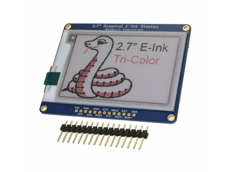 """Kategori İçin Resim SRAM'li 2.7 """"Üç Renkli eInk / ePaper Ekranı"""