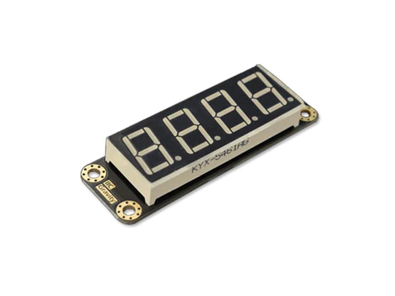 Kategori İçin Resim DFRobot DFR0645 4-Dijital LED Segment Ekran Modülleri