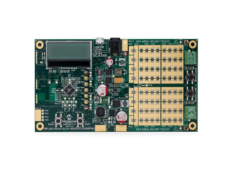 Kategori İçin Resim Microchip Technology dsPIC33C Dijital Güç Başlangıç Kiti