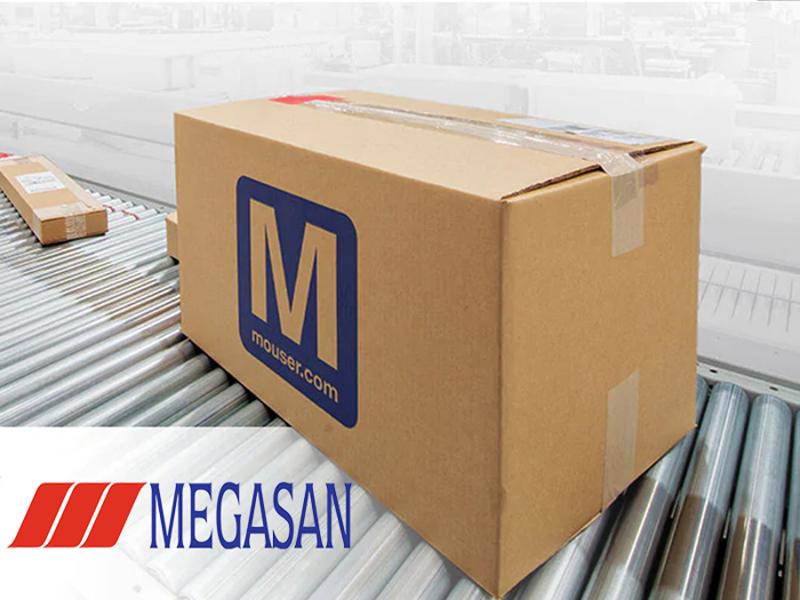 Kategori İçin Resim Megasan, Mouser'in Türkiye'deki Yeni İş Ortağı