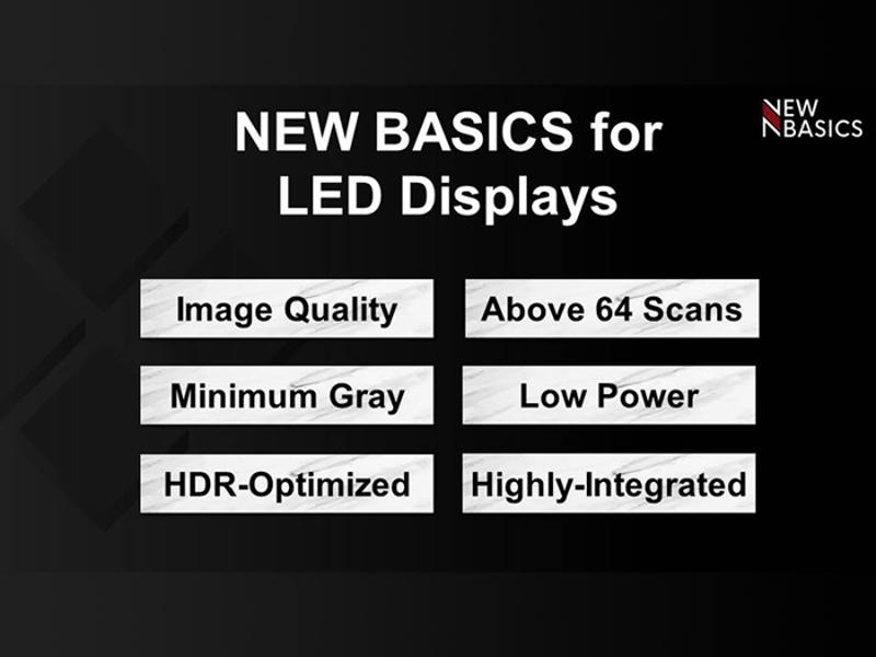 """Kategori İçin Resim İleri Teknoloji LED Ekranlar İçin """"Yeni Temeller"""""""