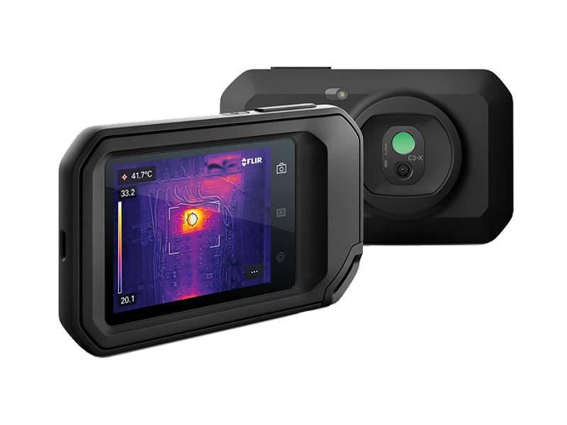 Kategori İçin Resim FLIR Systems C3-X Kompakt Termal Kamera