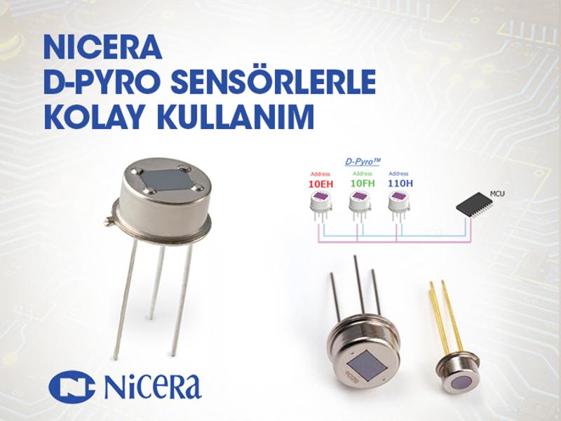 Kategori İçin Resim Nicera D-Pyro Sensörlerle Kolay Kullanım